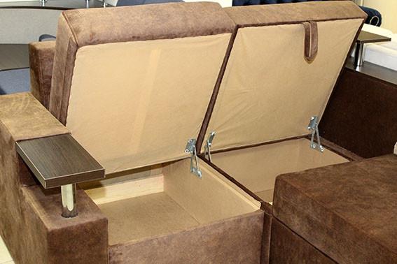 угловой диван с нишей для белья купить в Одессе