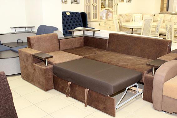 угловой диван со спальным местом купить в Одессе