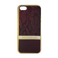 Чехол силиконовый Remax Exclusive Serial на iPhone 5 красный