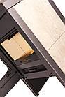 Отопительная печь-камин длительного горения FLAMINGO VEGA (белый дуб), фото 2
