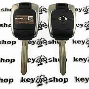 Оригинальный ключ для Ssang-Yong Kyron, Korando, Rexton (Санг Йонг) 2 кнопки