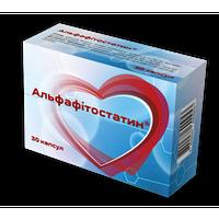 """""""Альфафитостатин""""-способствует нормализации уровня общего холестерина в крови"""