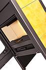 Отопительная печь-камин длительного грения FLAMINGO VEGA (желтый), фото 2