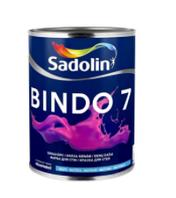 Матовая моющаяся краска для стен и потолка BINDO 7  BW(1л.)