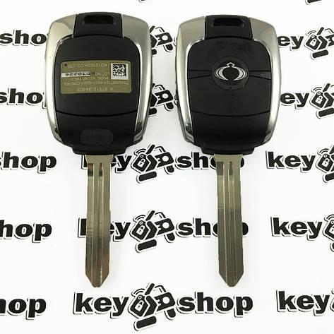 Оригинальный ключ для Ssang-Yong Kyron, Korando, Rexton (Санг Йонг) 2 кнопки, фото 2