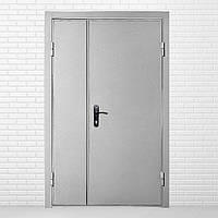 Двери входные полуторные технические 1мм (один лист металла)