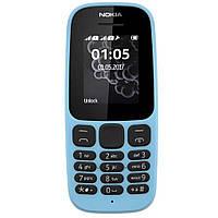 Мобильный телефон Nokia 105 New синий