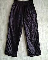 Балоневые штаны на флисе, для мальчика.рост 116