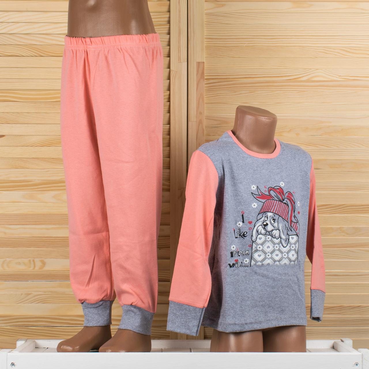 Детская пижама на девочку Турция. Moral 05-4 2/3. Размер на 2/3 года.