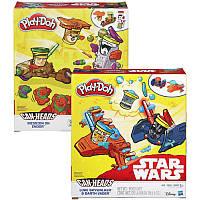 Игровой набор с пластилином Play-Doh «Транспортные средства героев Звездных войн» B0001 Hasbro