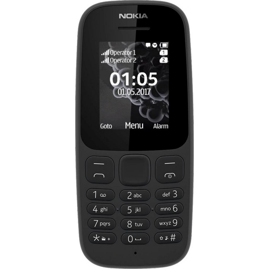 Мобильный телефон Nokia 105 DS New чёрный