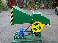 Измельчитель веток 90-Э с электродвигателем 5,5 кВт (на колесах)