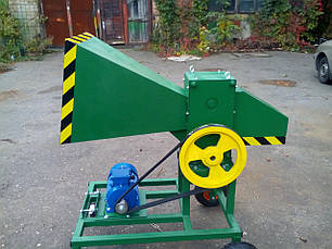 Измельчитель веток 90-Э с электродвигателем 4 кВт (на колесах), фото 2