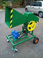 Измельчитель веток 90-Э с электродвигателем 4 кВт (на колесах)