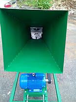 Измельчитель веток 90-Э с электродвигателем 4 кВт (на колесах), фото 3