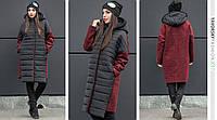 Пальто Yavorsky женское стильное спорт шик с капюшоном разные цвета GY200