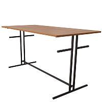 Стол для школьной столовой (1800*700*750h). Шестиместные столы для кафе и столовых