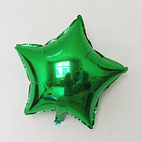 """Шар воздушный Звезда 18"""" зеленая"""