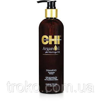 CHI Argan Oil Shampoo Шампунь Питательный с Арганой 355мл