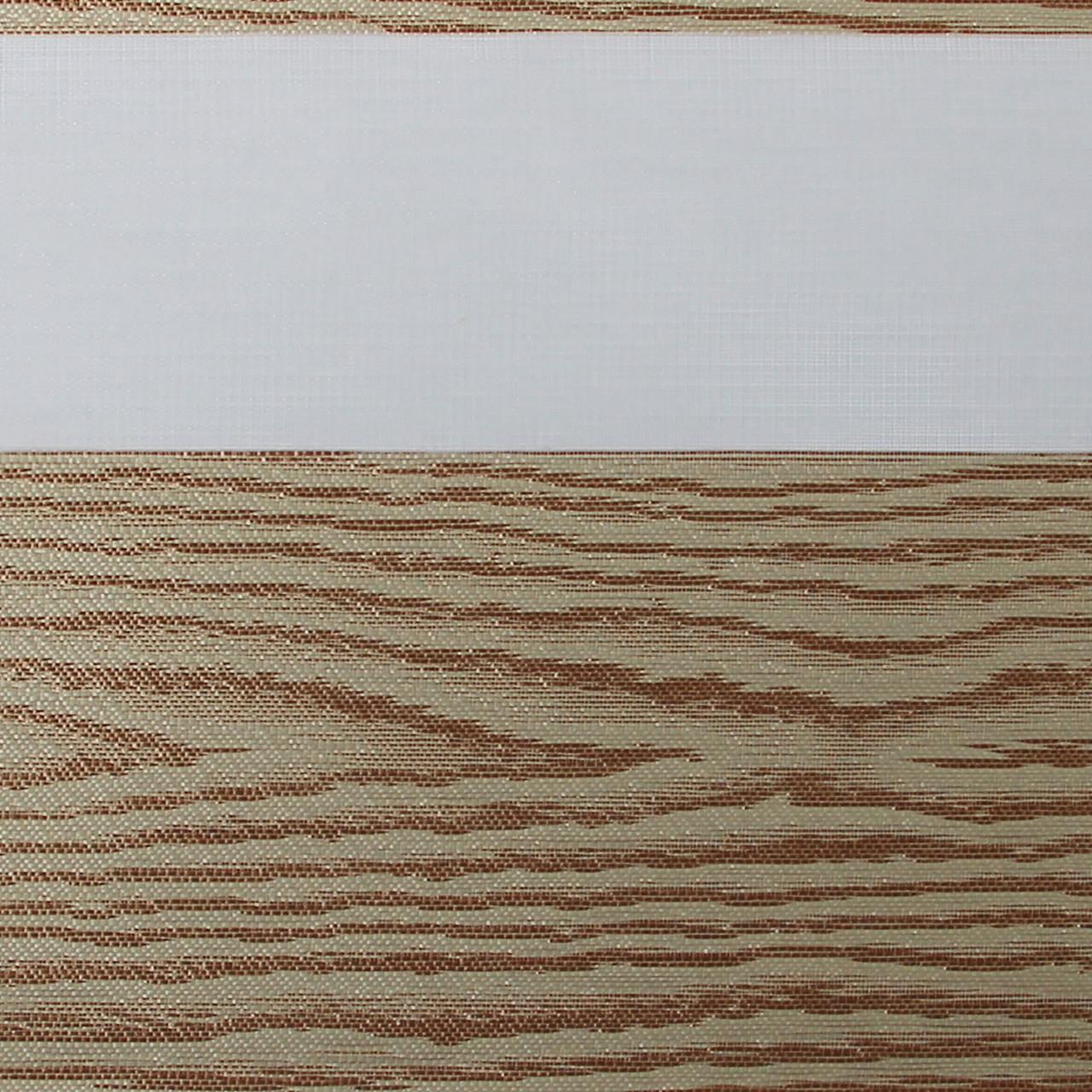 Рулонные шторы День-Ночь Ткань Форест ВН 209 Медь
