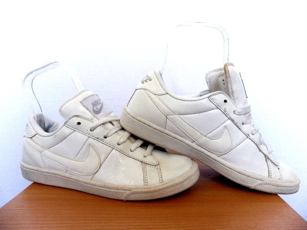 Кроссовки Nike Tennis Classic 100% ОРИГИНАЛ р-р 37,5 (23,5см) (Б/У, СТОК) белые кожаные найк origina