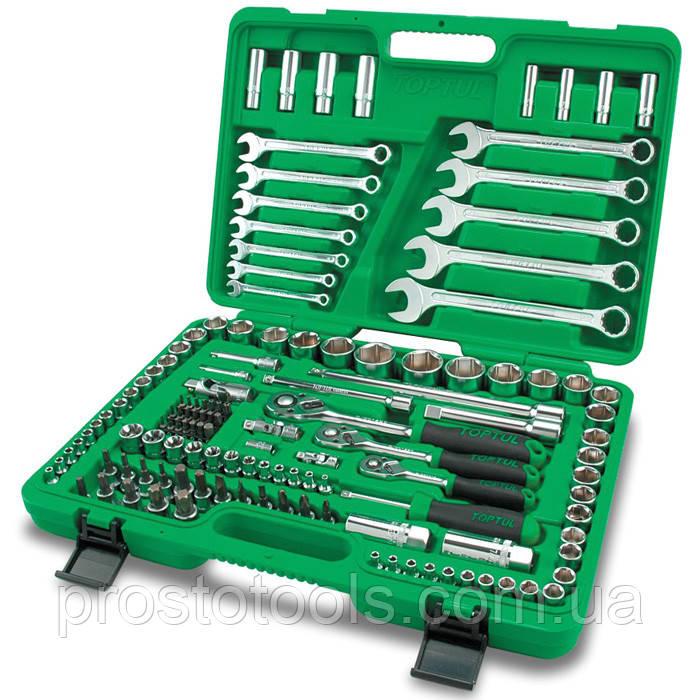 Набор инструмента  комбинированный 130 ед Toptul  GCAI130B
