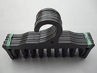 Плечики вешалки пластмассовые для нижнего белья WBR черные, 17,5 см