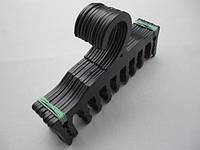 Плечики вешалки пластмассовые для нижнего белья WBR черные, 17,5 см, 10 штук в упаковке