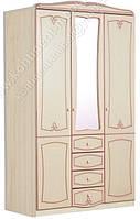 Шкаф трехдверный Ева (Континент) 1350х520х2200мм