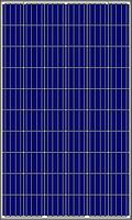 Сонячна полікристалічна панель AMERISOLAR AS-6P30-270 / 4BB