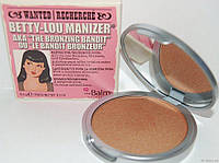 Хайлайтер - бронзатор для лица The Balm Betty-Lou Manizer