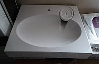 Раковина над стиральной машиной 60х55 см белая