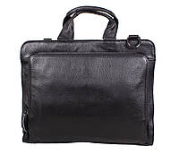 Мужская сумка из натуральной высококачественной кожи черная