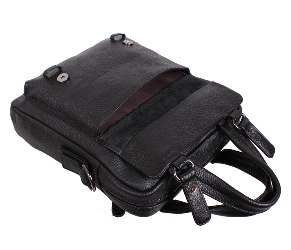 094efcc0897b Вертикальная мужская сумка формата А4 из натуральной кожи черная, цена 1  962 грн., купить в Киеве — Prom.ua (ID#595371889)