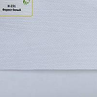 Рулонные шторы День-Ночь Ткань Форест ВН 201 Белый