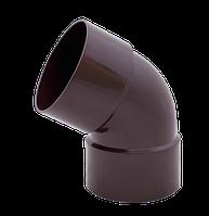 Колено водосточной трубы двухраструбное 60º Ø90/75 Водосточная система Profil
