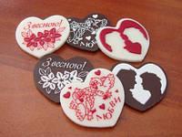 Шоколадные валентинки — сладкий подарок к 14 февраля