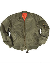 Куртка летная US FLIEGERJACKE MA1 BASIC