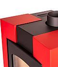 Отопительная печь-камин длительного горения FLAMINGO ESPO I (красный), фото 5