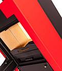 Отопительная печь-камин длительного горения FLAMINGO ESPO I (красный), фото 2