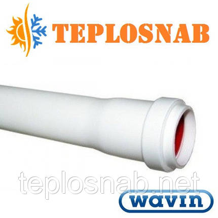 Труба канализационная Wavin 32х1,8х2000 мм , фото 2