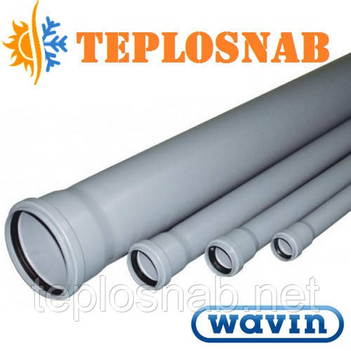 Труба канализационная Wavin 40х1,8х1000 мм