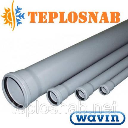 Труба канализационная Wavin 50x2,5x2000 мм , фото 2