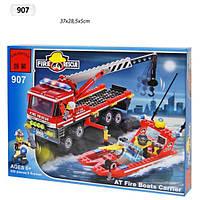 "Конструктор ""Brick"" (907) Пожарная охрана"
