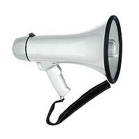 Портативний вуличний мегафон HW-20 (акумулятор/запис голосу)