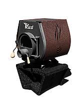 Печка Буллерьян Rud Pyrotron Кантри 00 с варочной поверхностью и стеклом