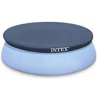 Тент для бассейна Intex 28026 диаметром 376см