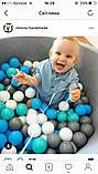 Кульки для сухого басейну 8 см м'які 2,55 грн., фото 8
