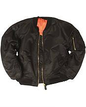 Куртка летная US FLIEGERJACKE MA1 BASIC черный