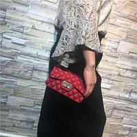 Сумочка Chanel 2017 - Бордовая